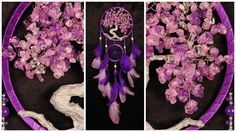 Pink violet Dream Catcher Tree of life Dreamcatcher quartz Dreamсatcher pink violet quartz wall handmade gift Valentine Day pink gift violet              *************************************************************************  Medicinal properties  Traditional healers believe that the quartz can do the most good for the body, if you do it from the filter for drinking water. They also recommend the use of a quartz water (water infused with quartz) for cosmetic purposes. If several times a…