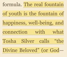 From Dr Christine Northrups book: Goddesses Never Age
