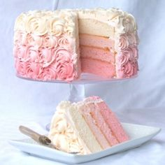 Love these colored layers Its a wow factor thinking cake should be. Dainty