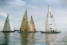 6mR yachts racing in the Baltic Sea, Finland