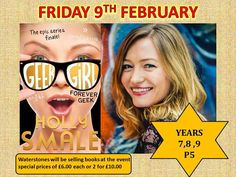 Dereham Neatherd High School Library News! We are delighted to be welcoming the outstanding author Holly Smale as a result of our winning auction bid made to the Grenfell Tower Fire Authors for Auction appeal. Holly is the author of the hugely successful Geek Girl series with the final book Forever Geek in the six book series published last year.   Geek Girl was the no. 1 bestselling young adult fiction title in the UK in 2013. It was shortlisted for several major awards including the Roald…