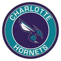 For all those sports fans out there: round rugs featuring your favorite team's logo and colors by FANMATS. nylon carpet and non-skid recycled vinyl backing. Chromojet-printed in true team colors. Chino Hills Basketball, Basketball Teams, Basketball Gifts, Sports Teams, Charlotte Hornets Logo, Nylon Carpet, Sports Gifts, Softball Gifts, Cheerleading Gifts