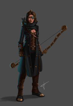 ArtStation - Steampunk Character Concept Art, Miguel Velarde