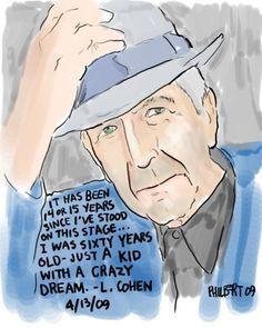 Bilderesultat for The Essential Leonard Cohen website.