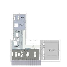 House Plan #445-3  Exclusive Design by Nick Noyes