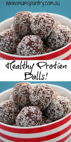 healthy protien balls