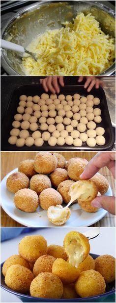 BOLINHA DE QUEIJO,SUPER FÁCIL DE PREPARAR!! VEJA AQUI>>>Em uma panela, adicione o leite, a farinha de trigo, a margarina, a gema e o sal Leve ao fogo e mexa com um garfo até que a massa solte da panela, depois deixe esfriar #MASSAS#BOLINHADEQUEIJO