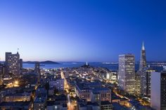 Grand Hyatt San Francisco Union Square, San Francisco, Room, 2 Double Beds, Bay View, City View