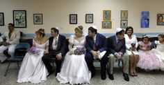 Mass Jewish wedding in Havana