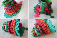 Gladiolus imbricatus: freeform crochet by irregularexpressions