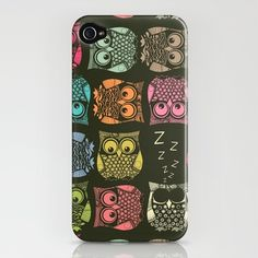 Owl phone case. I must have this.. An iPhone would be helpful too!