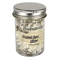 """Stampendous Crushed Glass Glitter Chosen by Emily Pitts ... """"I don't love glitter, but I love this stuff! Just pouring it on the glue sound..."""