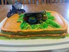 My son's 6th Birthday cake- Decopak from Amazon