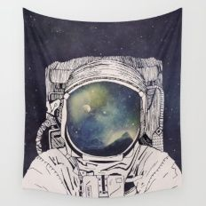 Dreaming Of Space Wall Tapestry