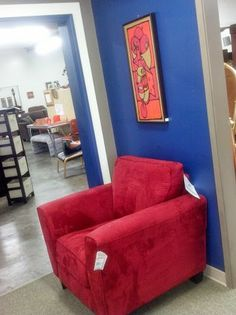 Only at Olympia furniture Works. Sofa, Couch, Olympia, Armchair, Red, Furniture, Beautiful, Home Decor, Sofa Chair