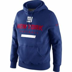 Men's Nike NFL New York Giants Team Logo Hoodie « Clothing Impulse