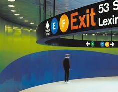 Project image 1 for 53rd & Lex Subway Signage, Metropolitan Transit Authority