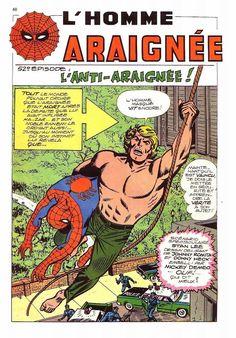 L'Homme Araignée dans le Strange 55 de Lug.