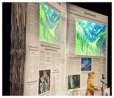 thre screen is out of a newspaper - super fun from David Stark
