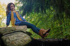 Vest: Daytrip from Buckle Chiffon Aztec Print: Francesca's Steve Madden Combat Boots Read More at trendyinindy.wordpress.com