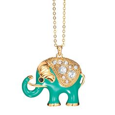 Image result for avon honorable elephant necklace
