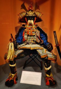 Glenbow Museum in downtown Calgary. here you can see  traditional and beautifully ornate late 19th century Japanese Samurai  armour.