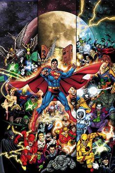 George Perez - DC Heroes