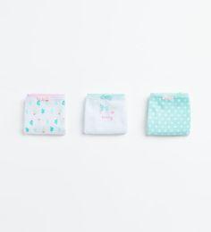 ZARA - KIDS - 3-pack of cactus briefs