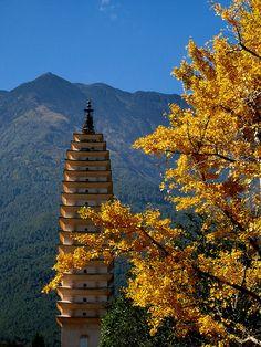 Pagoda, Dali, Lijiang, China