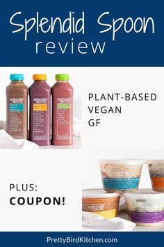 Busy can still be healthy! Splendid Spoon is a plant-based meal delivery service that sends ready-to-eat vegan, gluten-free, non-GMO smoothies, soups, and grain bowls right to your door! Here's my Splendid Spoon review along with a coupon.  #splendidspoon #plantbasedmealdelivery #healthymealdelivery #vegan #plantbased #smoothie Holistic Nutrition, Diet And Nutrition, Health And Wellness, Health Tips, Plant Based Diet Plan, Plant Based Recipes, Plant Based Meal Delivery, Splendid Spoon, Natural Lifestyle