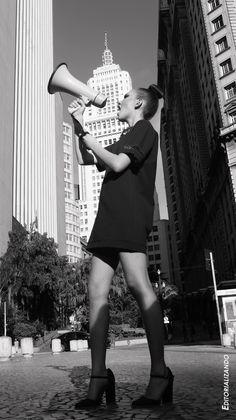 Modelo: Sofia Basso Locação - Vale do Anhangabaú #editorialmoda2015