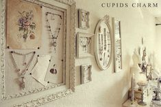 Lovely way to display jewellery from Cupids Charm