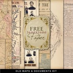 Far Far Hill: Freebies Vintage Maps Kit - printable maps instead of wallpaper behind shelves Free Digital Scrapbooking, Digital Papers, Digital Backgrounds, Vintage Maps, Antique Maps, Printable Maps, Free Printables, Printable Vintage, Map Crafts