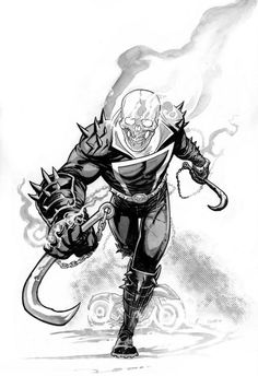 Ghost Rider by Cliff Rathburn