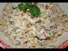 ensalada de coditos con atún