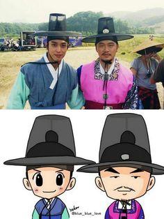 Yong Hwa and Yang Dong Geun | Three Musketeers
