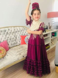 Flamenco Costume, Flamingo Dress, Spanish Dress, Tribal Dress, Wedding Costumes, Folk Costume, Festival Wear, Traditional Dresses, Women's Fashion Dresses