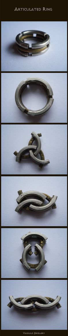 That is sure cool-Articulated ring by ~Vassilius on deviantART