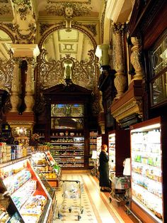just a grocery store.  moskva, ru