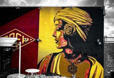 Shepard Fairey in Dallas, Texas, USA, 2019 Texas Usa, Dallas Texas, Shepard Fairy, Graffiti, Street Art, Painting, Painting Art, Paintings, Painted Canvas