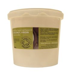 500g Organic Virgin Coconut Solid Oil - 100% Pure Carrier Oil