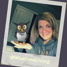 Help me name my owl Go to my FB page in Bio to submit your vote and to be entered in my drawing by wisetimeliving