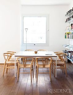 STIL INSPIRATION: Lovely Home. I want these chairs!!