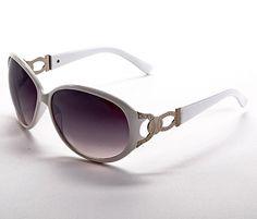 1303545da7 Gafas de sol de mujer en color blanco. Comprar Joyas, Gafas De Sol De