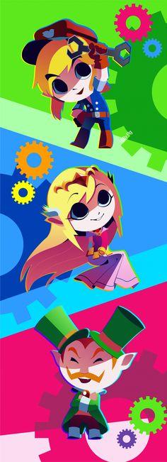 Spirit Tracks legend of Zelda - favorite game of the series