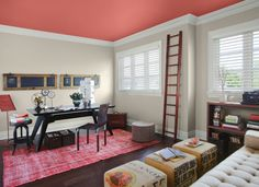 Spiced Life - Benjamin Moore home office 2012 color makeover