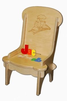 beautifully crafted kid friendly puzzle first rocking puzzle chair ...