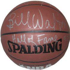 Bill Walton Autographed Spalding NBA Indoor / Outdoor Basketball w/ 2 Inscriptions, Proof