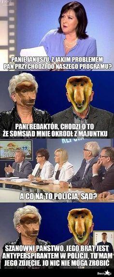BESTY.pl - Sprawa dla nosacza Meme Meme, Wtf Funny, Good Mood, Fun Facts, Challenge, Jokes, Lol, Good Things, Humor