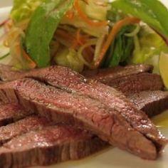 flank steak Flank Steak, Meat, Food, Skirt Steak, Essen, Meals, Yemek, Eten